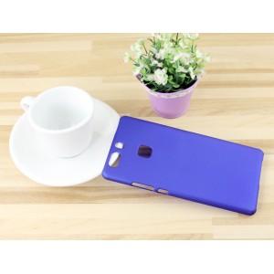 Пластиковый непрозрачный матовый чехол для Huawei P9 Plus
