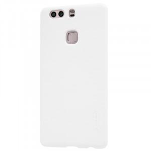 Пластиковый непрозрачный матовый нескользящий премиум чехол для Huawei P9 Plus