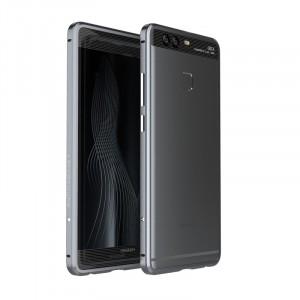 Металлический округлый премиум бампер сборного типа на винтах для Huawei P9 Plus