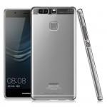 Пластиковый транспарентный чехол для Huawei P9 Plus