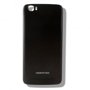 Оригинальный пластиковый непрозрачный матовый встраиваемый чехол для Homtom HT6  Черный