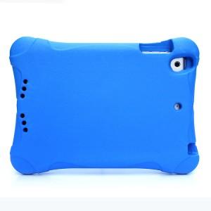 Ударостойкий детский силиконовый матовый гиппоаллергенный непрозрачный чехол для Ipad Mini 1/2/3