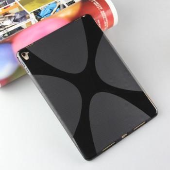Силиконовый матовый полупрозрачный чехол с дизайнерской текстурой X для Ipad Pro 9.7