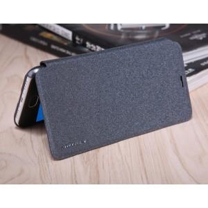 Чехол горизонтальная книжка на пластиковой нескользящей премиум основе для Meizu M3s Mini