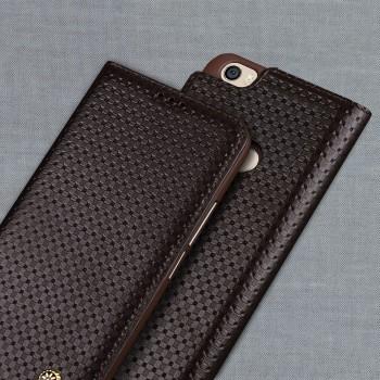 Кожаный чехол горизонтальная книжка (премиум нат. кожа) для Xiaomi Mi Max