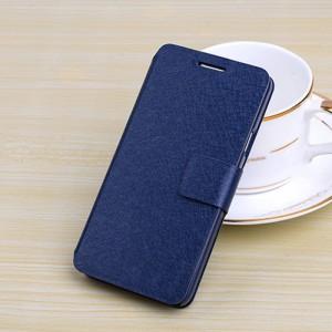 Чехол горизонтальная книжка подставка на пластиковой основе с отсеком для карт на магнитной защелке для Samsung Galaxy Grand