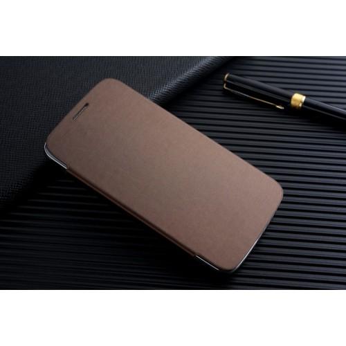Чехол горизонтальная книжка на пластиковой встраиваемой основе для Samsung Galaxy Grand