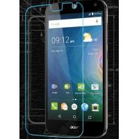Ультратонкое износоустойчивое сколостойкое олеофобное защитное стекло-пленка для Acer Liquid Z630/Z630S
