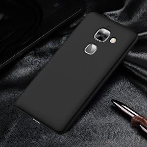 Пластиковый непрозрачный матовый чехол с улучшенной защитой элементов корпуса для LeEco Le Max 2 Черный