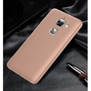 Пластиковый непрозрачный матовый чехол с улучшенной защитой элементов корпуса для LeEco Le Max 2 Розовый