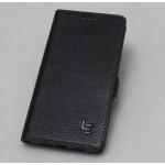 Кожаный чехол горизонтальная книжка (премиум нат. кожа) с крепежной застежкой для LeEco Le Max 2