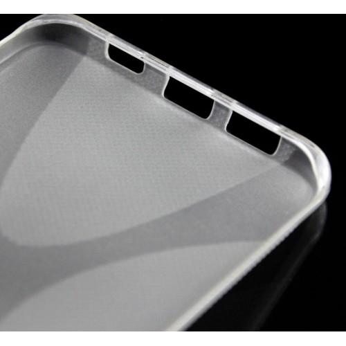 Силиконовый матовый полупрозрачный чехол с дизайнерской текстурой X для Samsung Galaxy S6 Edge Plus
