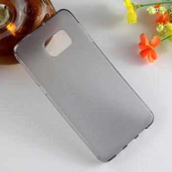 Силиконовый матовый полупрозрачный чехол для Samsung Galaxy S6 Edge Plus