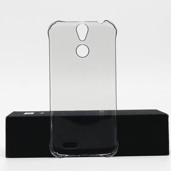Пластиковый полупрозрачный матовый чехол для Vernee Thor