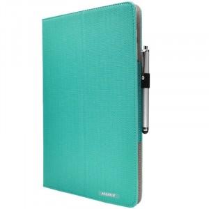Чехол книжка подставка с рамочной защитой экрана, крепежом для стилуса и тканевым покрытием для Huawei MateBook