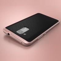 Противоударный двухкомпонентный силиконовый матовый непрозрачный чехол с поликарбонатными вставками экстрим защиты для Huawei Honor 5C  Розовый