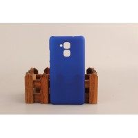 Пластиковый непрозрачный матовый чехол для Huawei Honor 5C Синий