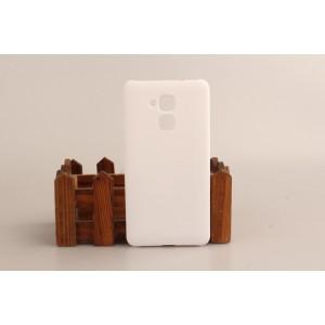 Пластиковый непрозрачный матовый чехол для Huawei Honor 5C Белый