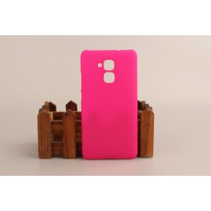 Пластиковый непрозрачный матовый чехол для Huawei Honor 5C Пурпурный