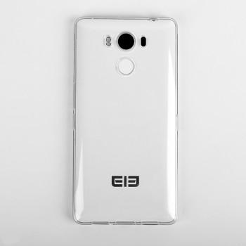 Силиконовый матовый транспарентный чехол для Elephone P9000