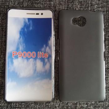 Силиконовый матовый полупрозрачный чехол для Elephone P9000 Lite