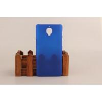Пластиковый непрозрачный матовый чехол для OnePlus 3 Синий