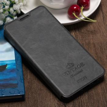 Винтажный чехол горизонтальная книжка подставка на силиконовой основе с отсеком для карт для OnePlus 3