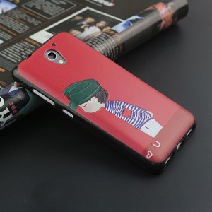 Силиконовый матовый непрозрачный чехол с объемно-рельефным принтом для ZTE Blade A510