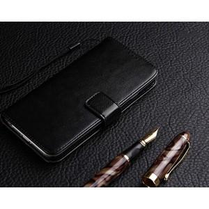 Глянцевый чехол портмоне подставка на силиконовой основе на магнитной защелке для ZTE Blade A510