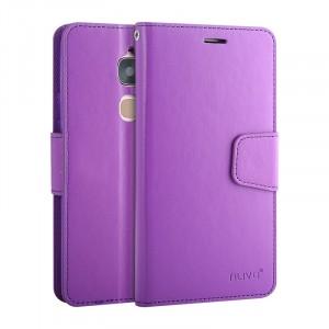 Глянцевый чехол портмоне подставка на силиконовой основе на магнитной защелке для LeEco Le 2  Фиолетовый