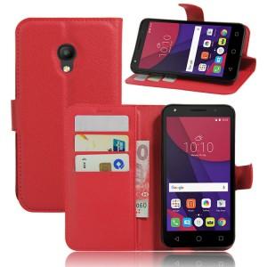 Чехол портмоне подставка на силиконовой основе на магнитной защелке для Alcatel Pixi 4 (5) 3G 5010d