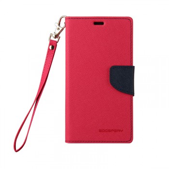 Чехол портмоне подставка на силиконовой основе на дизайнерской магнитной защелке для Sony Xperia Z