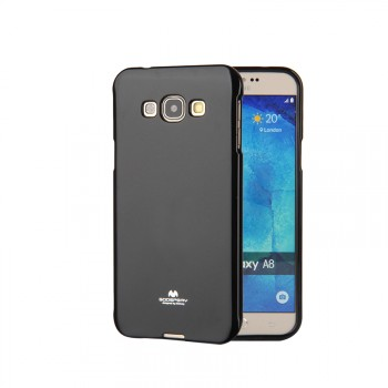 Силиконовый глянцевый непрозрачный чехол для Samsung Galaxy J1 (2016)