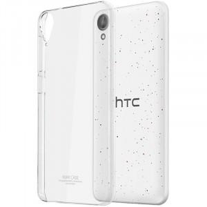 Пластиковый транспарентный чехол для HTC Desire 825