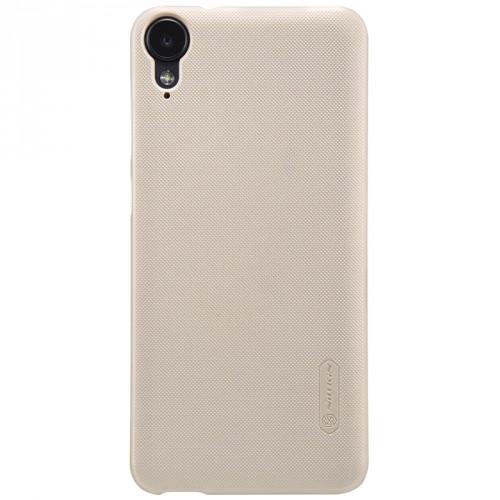 Пластиковый непрозрачный матовый нескользящий премиум чехол для HTC Desire 825