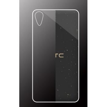 Силиконовый матовый транспарентный чехол для HTC Desire 825