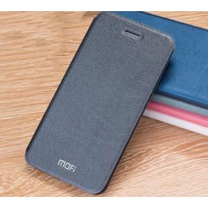 Винтажный чехол горизонтальная книжка подставка на силиконовой основе для Xiaomi RedMi 3 Pro/3S Черный