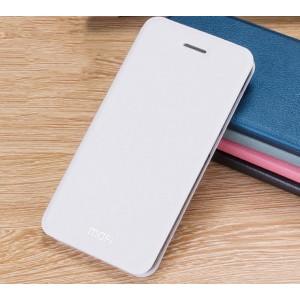 Винтажный чехол горизонтальная книжка подставка на силиконовой основе для Xiaomi RedMi 3 Pro/3S Белый