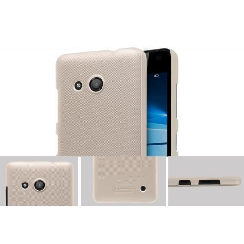 Пластиковый непрозрачный матовый нескользящий премиум чехол для Microsoft Lumia 550