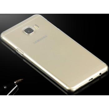 Пластиковый транспарентный чехол для Samsung Galaxy C7