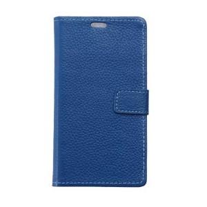 Кожаный чехол портмоне подставка на силиконовой основе на магнитной защелке для LG X cam