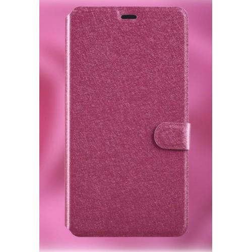 Текстурный чехол горизонтальная книжка подставка на пластиковой основе с отсеком для карт на магнитной защелке для Microsoft Lumia 640 XL