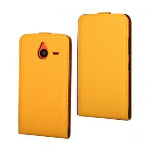 Чехол вертикальная книжка на пластиковой основе на магнитной защелке для Microsoft Lumia 640 XL