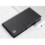 Текстурный чехол горизонтальная книжка подставка на пластиковой основе на магнитной защелке для Lenovo A6000/A6010