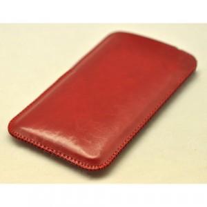 Кожаный мешок для Xiaomi RedMi 3 Pro/3S Красный