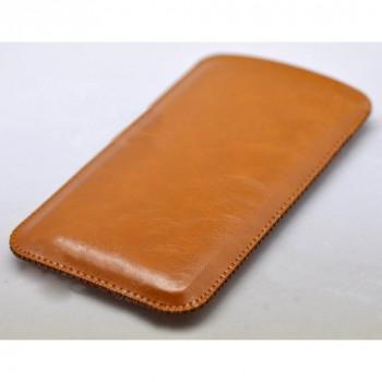 Кожаный мешок для Xiaomi RedMi 3 Pro/3S Бежевый