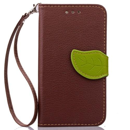 Чехол портмоне подставка на силиконовой основе на дизайнерской магнитной защелке для LG Leon