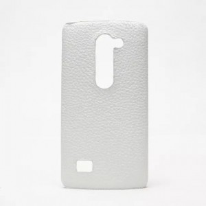 Чехол накладка текстурная отделка Кожа для LG Leon
