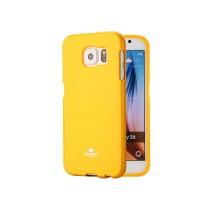 Силиконовый глянцевый непрозрачный чехол для Samsung Galaxy A5 (2016) Желтый