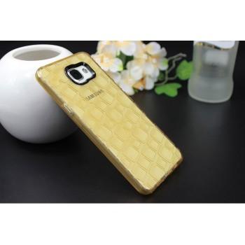 Силиконовый матовый полупрозрачный чехол с текстурным покрытием Узоры для Samsung Galaxy A5 (2016)
